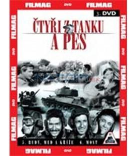 Čtyři z tanku a pes 3 - díly 5 a 6 (Czterej pancerni i pies) DVD