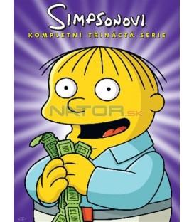 Simpsonovi 13.sezona, 4 DVD, 22 dílů