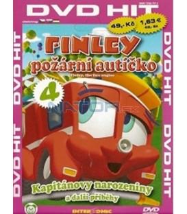 Finley  požární autíčko 4 (Finley, the fire engine)