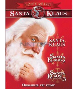 Santa Klaus kolekce 1.-3. 3DVD   (The Santa Clause 1-3)