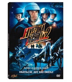 Hvězdná pěchota 2 (Starship Troopers 2: Hero of the Federation) DVD