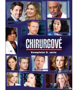 Chirurgové - 6.série 6DVD  (Greys Anatomy - season 6 (6DVD))