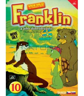 FRANKLIN A JEHO DOBRODRUŽSTVÍ 10 DVD