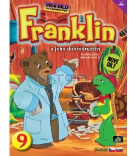 FRANKLIN A JEHO DOBRODRUŽSTVÍ 9 DVD