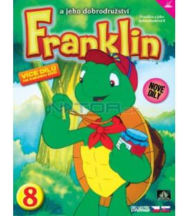 FRANKLIN A JEHO DOBRODRUŽSTVÍ 8 DVD