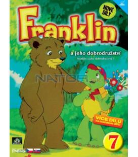 FRANKLIN A JEHO DOBRODRUŽSTVÍ 7 DVD