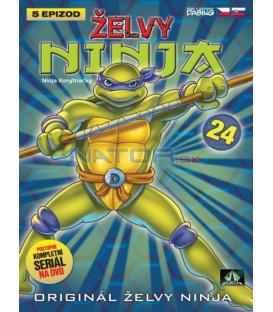 ŽELVY NINJA 24   (Teenage Mutant Ninja Turtles)  DVD
