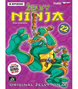 ŽELVY NINJA 22   (Teenage Mutant Ninja Turtles) DVD
