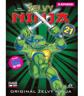 ŽELVY NINJA 21   (Teenage Mutant Ninja Turtles)  DVD