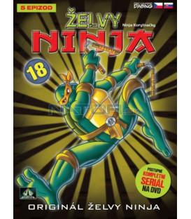 ŽELVY NINJA 18   (Teenage Mutant Ninja Turtles) DVD