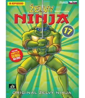 ŽELVY NINJA 17   (Teenage Mutant Ninja Turtles) DVD