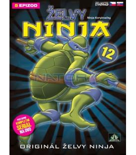 ŽELVY NINJA 12   (Teenage Mutant Ninja Turtles)  DVD