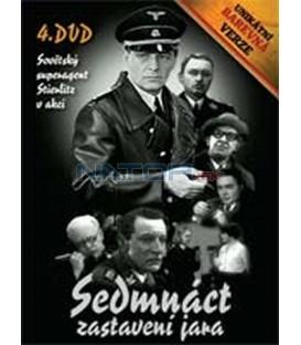 Sedmnáct zastavení jara – 4. DVD – SLIM BOX - UNIKÁTNÍ BAREVNÁ VERZE