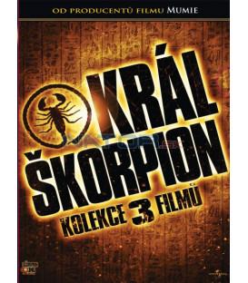 Král Škorpion - kolekce / The Scorpion King – 1,2,3 Movie Collection / 2011