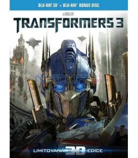 Transformers 3 (2Blu-ray) 3D + 2D bonus disk  (Transformers: The Dark of the Moon)