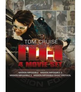 Kolekce: Mission Impossible I. - IV. 4 DVD