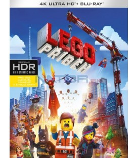 Lego příběh (The Lego Movie) UHD+BD - 2 x Blu-ray