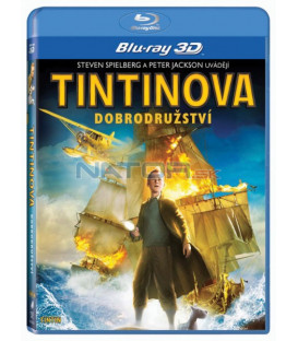 Tintinova dobrodružství -  3D Blu-ray ( Adventures of Tintin: The Secret of Unicorn ) 2011
