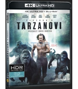 Legenda o Tarzanovi (Legend of Tarzan) 2016 2Blu-ray UHD+BD