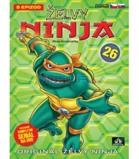 ŽELVY NINJA 26   (Teenage Mutant Ninja Turtles) DVD