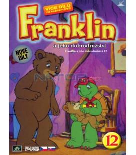 FRANKLIN A JEHO DOBRODRUŽSTVÍ 12 DVD