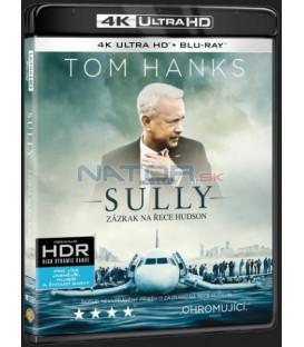 Sully: Zázrak na řece Hudson (Sully) UHD+BD - 2 x Blu-ray
