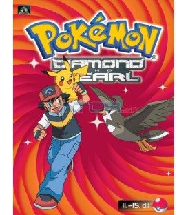 Pokémon Diamond and Pearl 11.-15.díl (DVD 3)