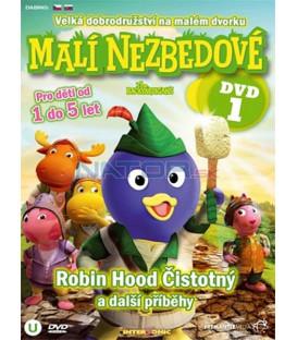 Malí Nezbedové 1 DVD (Backyardigans)
