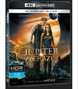 Jupiter vychází (Jupiter Ascending) UHD+BD - 2 x Blu-ray