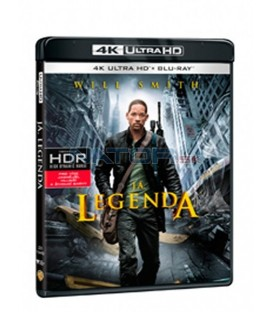 Já, legenda (I am Legend) UHD+BD - 2 x Blu-ray