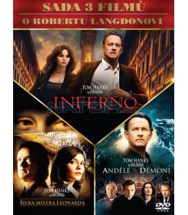 Kolekce: Dan Brown 3 DVD