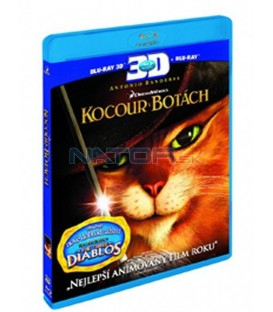 Kocour v botách (Blu-ray) 3D+2D   (Puss in Boots)