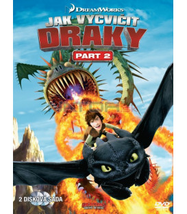 JAK VYCVIČIT DRAKY - 2. ČÁST (Dragons: Riders of Berk) - 2 DVD
