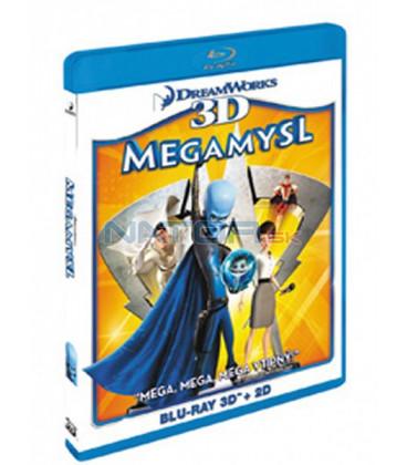 Megamysl (Blu-ray) 3D+2D   (Megamind)