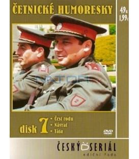 Četnické humoresky 7. DVD - díly 18 až 20