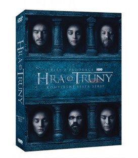 Hra o trůny 6. série 5 X DVD (Game of Thrones Season 6) (Viva balení)