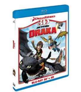 Jak vycvičit draka (Blu-ray) 3D+2D   (How to Train Your Dragon)