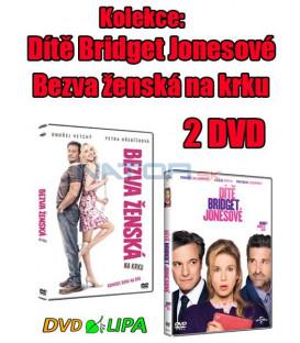 Kolekce: Dítě Bridget Jonesové + Bezva ženská na krku 2 DVD