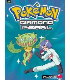 Pokémon Diamond and Pearl 26.-30.díl (DVD 6)