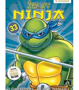 ŽELVY NINJA 33 (Teenage Mutant NINJA Turtles) DVD