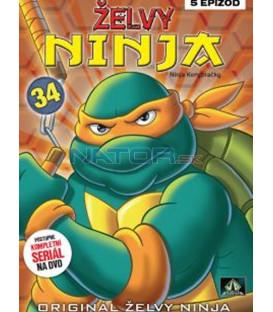 ŽELVY NINJA 34   (Teenage Mutant Ninja Turtles) DVD