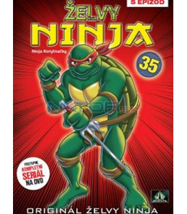ŽELVY NINJA 35   (Teenage Mutant Ninja Turtles) DVD