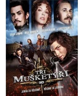 Tři mušketýři - 2011 (The Three Musketeers) 3D + 2D - BLU-RAY