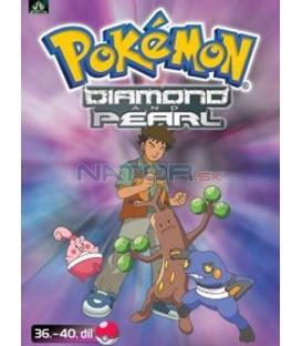 Pokémon Diamond and Pearl 36.-40.díl (DVD 8)