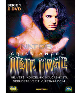 Criss Angel 1-6 digipack /6DVD/   (Criss Angel Mindfreak)
