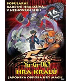 Yu-Gi-Oh 5D´s – 16. DVD – SLIM BOX
