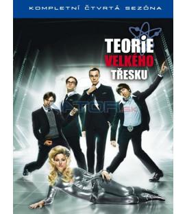 Teorie velkého třesku 4. série 3DVD  (Big Bang Theory Season 4)
