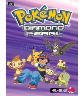 Pokémon Diamond and Pearl 46.-51.díl (DVD 10)