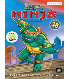 ŽELVY NINJA 38 (Teenage Mutant NINJA Turtles) DVD