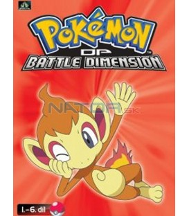 Pokémon (XI): DP Battle Dimension 1.-6.díl (DVD 1)